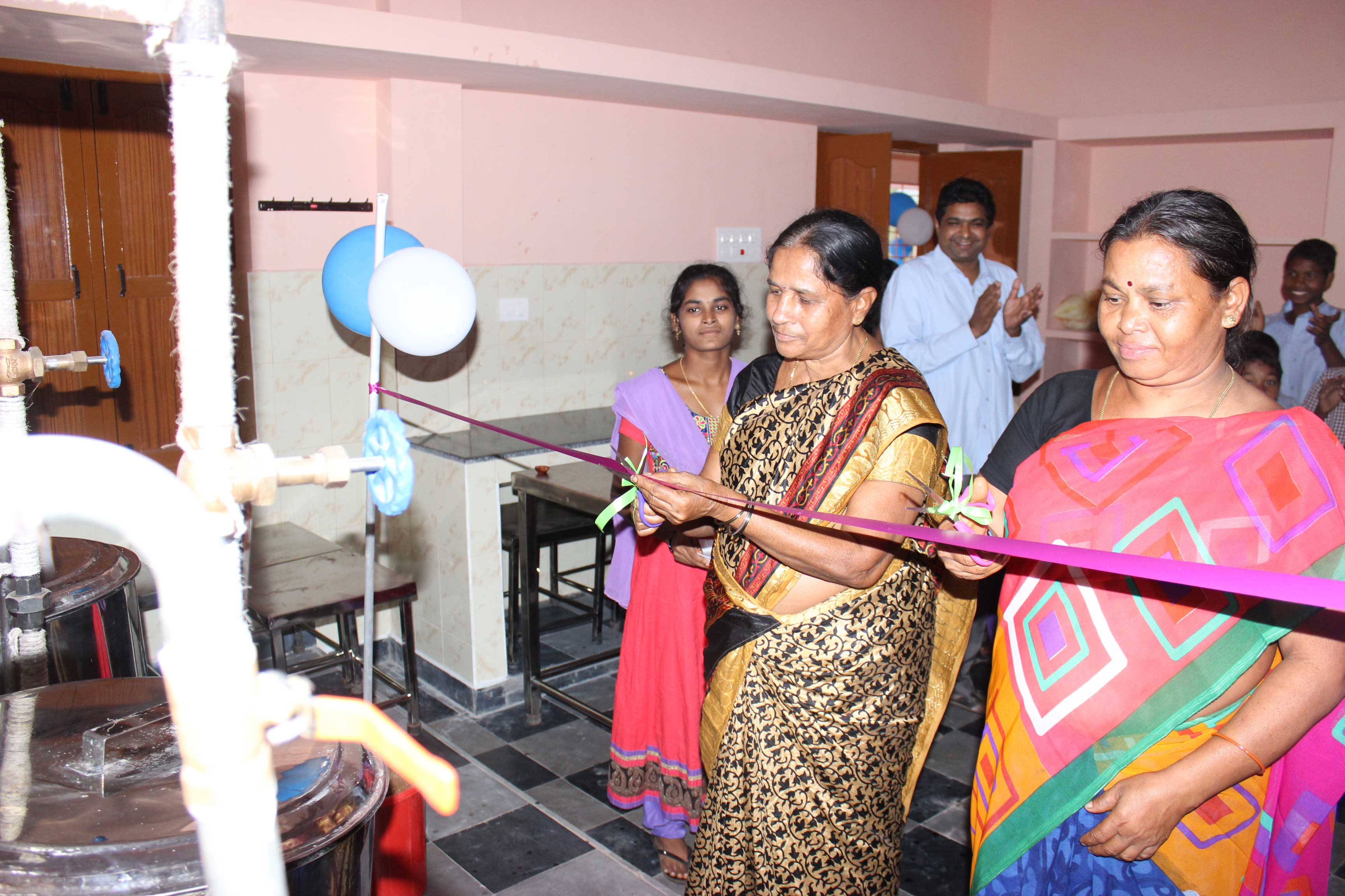 Blessing and Inauguration of New Kitchen at Sabbavaram